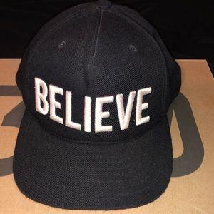 "539827b3735 BlackScale ""Believe"" SnapBack"